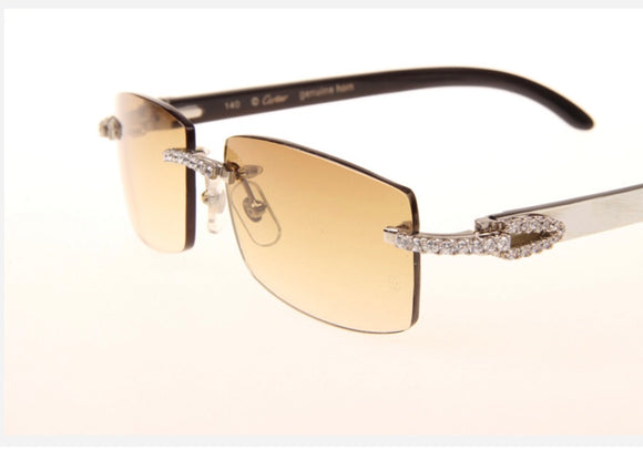 3947c0b066 Custom Iced Out Cartier Sunglasses – myluxshells