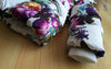 Winter Clothing Set(Flowers Down Coat +Overalls) for Toddler Girl( 1-7 Years)