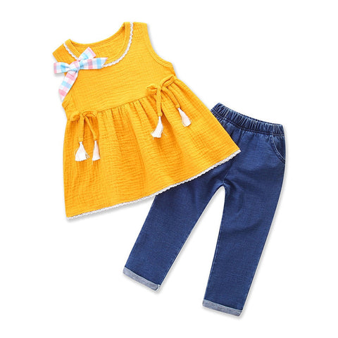 Samgami Girls Clothing Sets Fashion Clothes(3-6 Years)