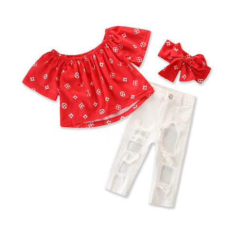 Sagami Baby Girls Clothing Sets (3-6 Years)