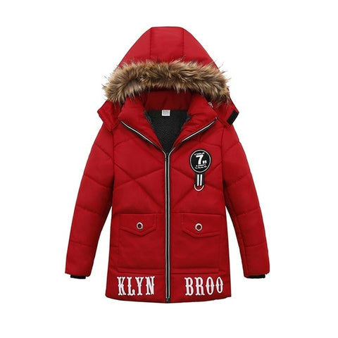 Winter Hooded Jacket Coat for  Baby Boy