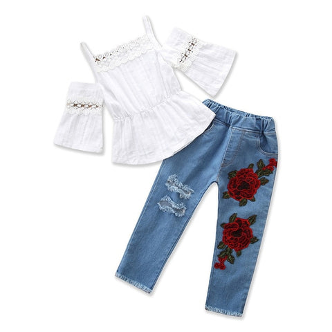 3pcs Girls Fashion Clothes Sets for Spring/Autumn(2-10 years)