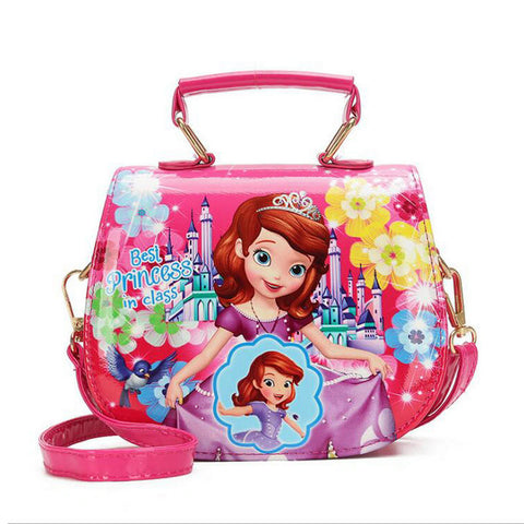 Princess Cartoon Handbag for Girls