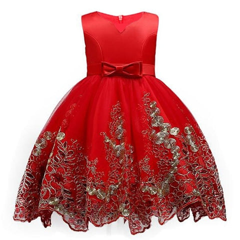 Princess Summer Dress Gown for Girls(3-12 Years)