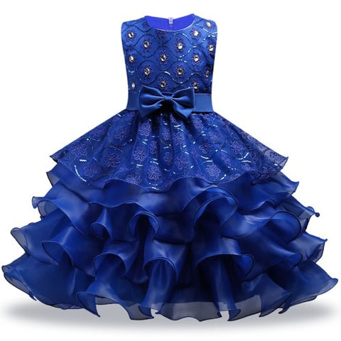 Princess Tulle Dress Gown for Girls