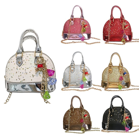 Sequins Shoulder Bag For Girls