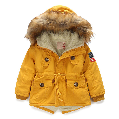 Autumn Winter Jacket for Children(4-12 Years)