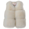 Autumn Winter Faux Fur Jacket Coat for Girls