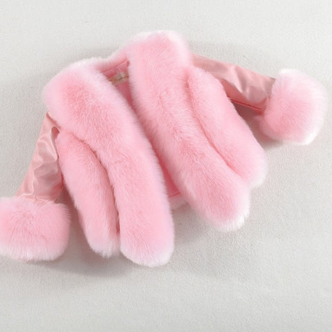 Winter Fur Coat for Children(2-10 Years)