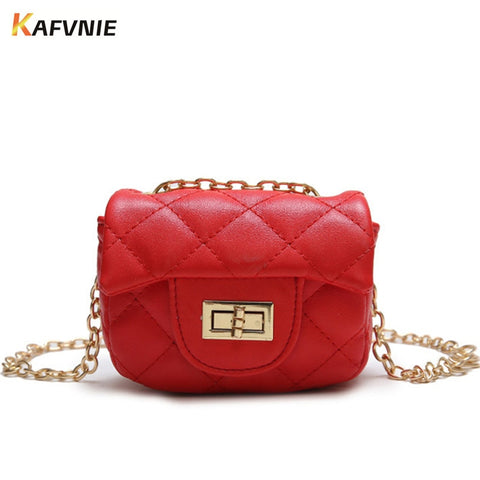 KAFVNIE Mini Handbag Shoulder Bag for Girls