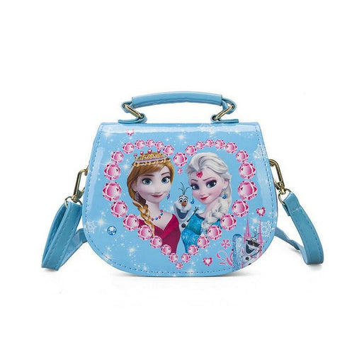 Elsa and Anna Cartoon Handbag for Girls