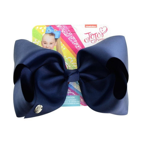 8 Inch Large Ribbon HairBow With Alligator Clip for Children