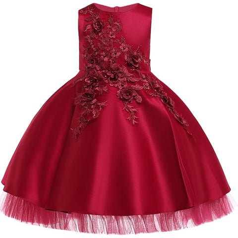Flower Dress for Girls(3-10 years)