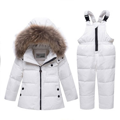 Winter Jacket Clothing Set ( Overalls) For Kids