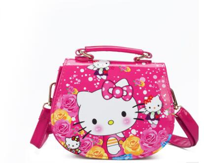 Kitty Cartoon Tote Handbag for Girls