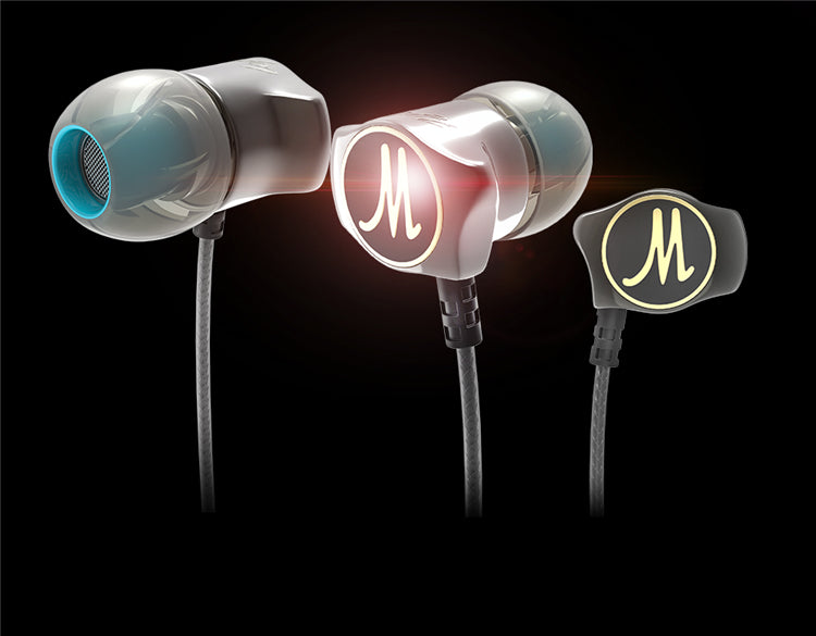 Special Edition Gold Plated Noise Isolating HD HiFi Earphone