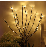 Led Copper Wire String Lights Romantic Wedding Fairy Light Decoration AA Battery Operated