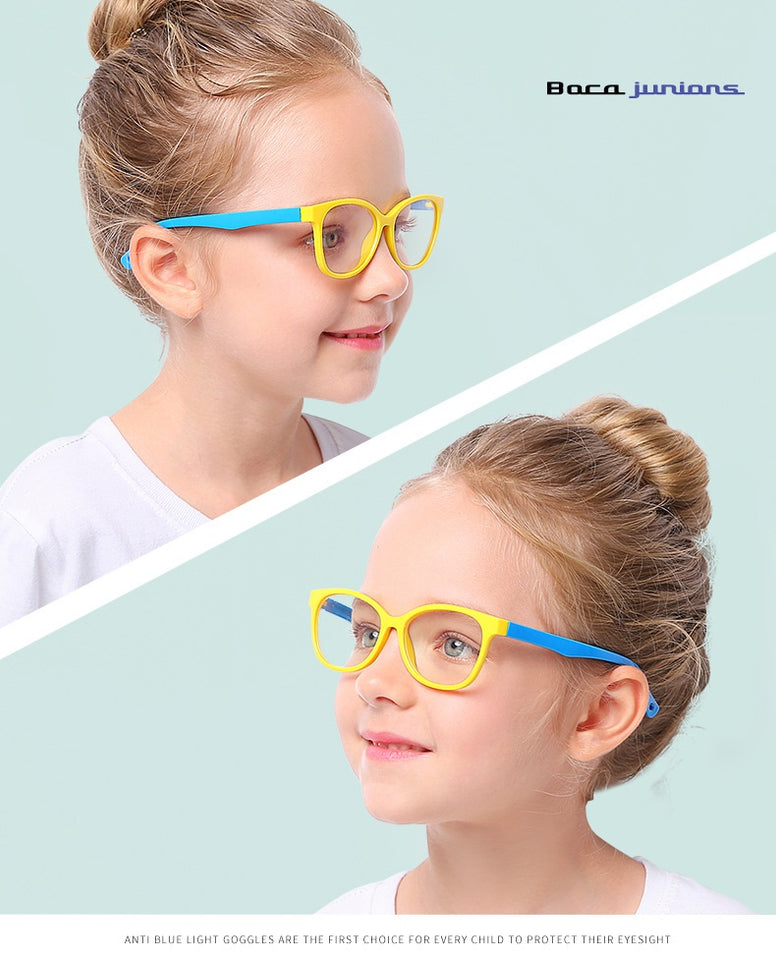Anti Blue Light Computer Clear Gaming Spectacles UV400 Radiation-resistant Glasses