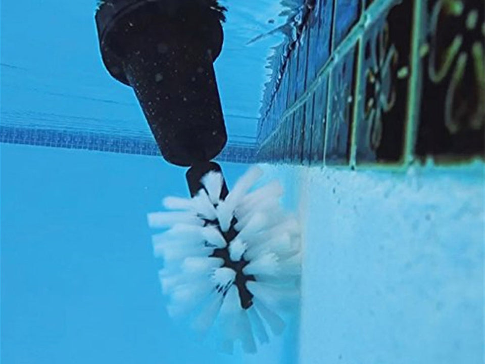 Water-driven Rotating Washing Cleaning Brush