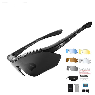 High Quality Polarized Sports Sunglass With 5 Lens For Driving | Cycling | Mountaineering