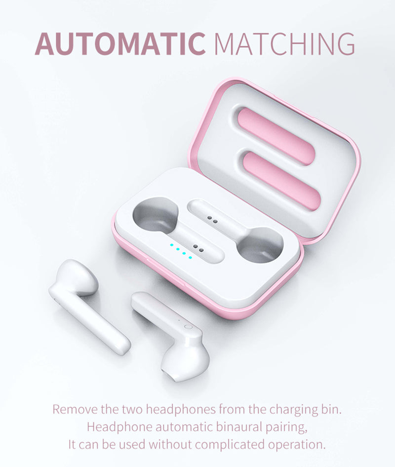 Mini In Ear Wireless Earbuds With Touch Headset