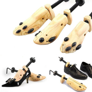 Wooden Adjustable Shoes Stretcher Size S/M/L Man Women