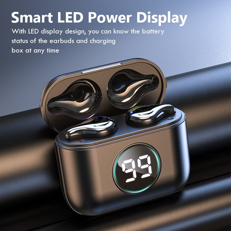 True Wireless Stereo Earbuds With Touch Control - 24H Play Time