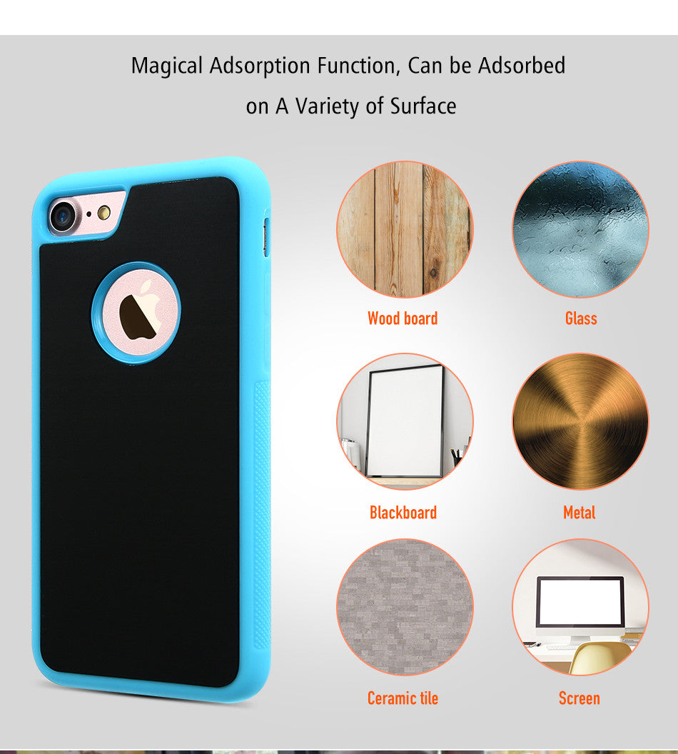 Anti-Gravity Magical Sticky Mobile Case
