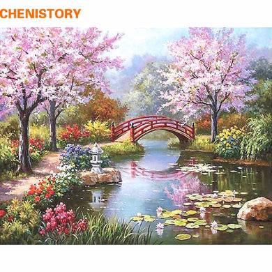 DIY Painting By Numbers Fairyland Romantic