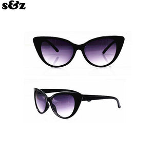 Fashion Retro Women Cat Eye Sunglasses