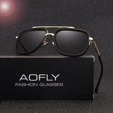 New Fashion Men Polaroid Lens Sunglass AOFLY