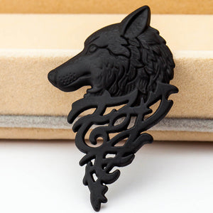 Game of Thrones Wolf Head Brooches Pin Collar Badge Brosh Pin