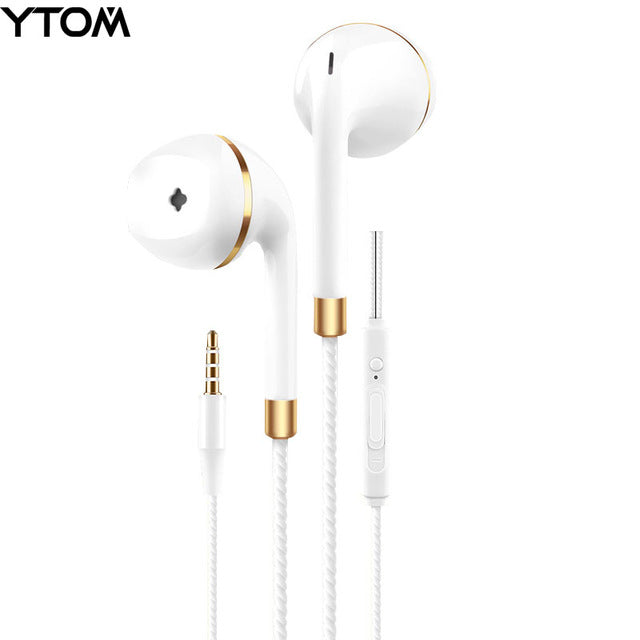In-ear Stereo earphone for apple iphone 5s 6s 5 xiaomi Samsung Sony