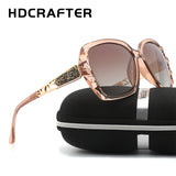 New Arrival Luxury Brand over sized Polarized sun glasses