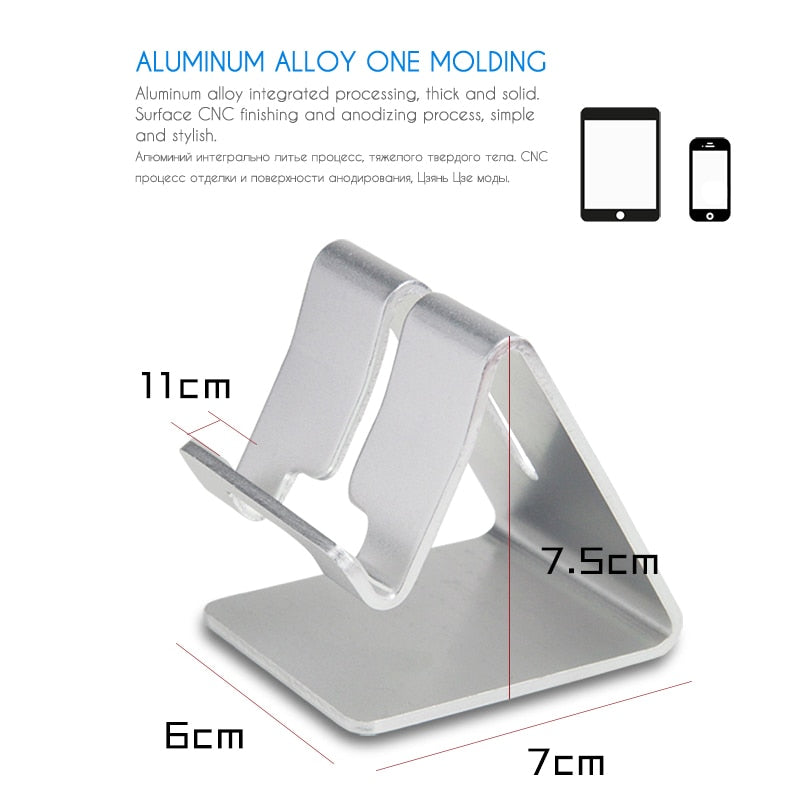 Aluminum Metal Mobile Phone Holder