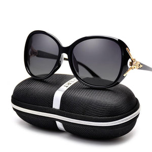 Polarized Designer Cat Eye Sunglasses