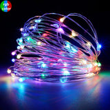 Fairy String Light 1M/2M Waterproof Copper mini Light for Home,Wedding Operated by Battery