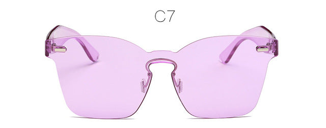 Hot Fashion Summer Rimless Square Shades Sun glasses