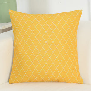 Nordic style Yellow Cushion Cover