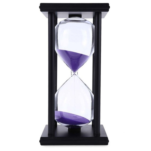 Colourful Hourglass 60 Minute 8.06 inch Sand Clock Timer