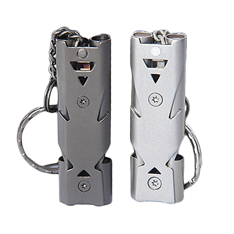 High-Frequency Emergency Survival Whistle Key-chain For Camping Hiking Outdoor