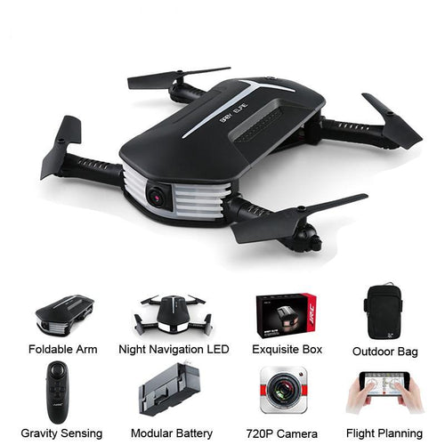 Mini Selfie 720P WIFI FPV w/ Altitude Hold Headless Mode G-sensor RC Drone Quadcopter Helicopter RTF