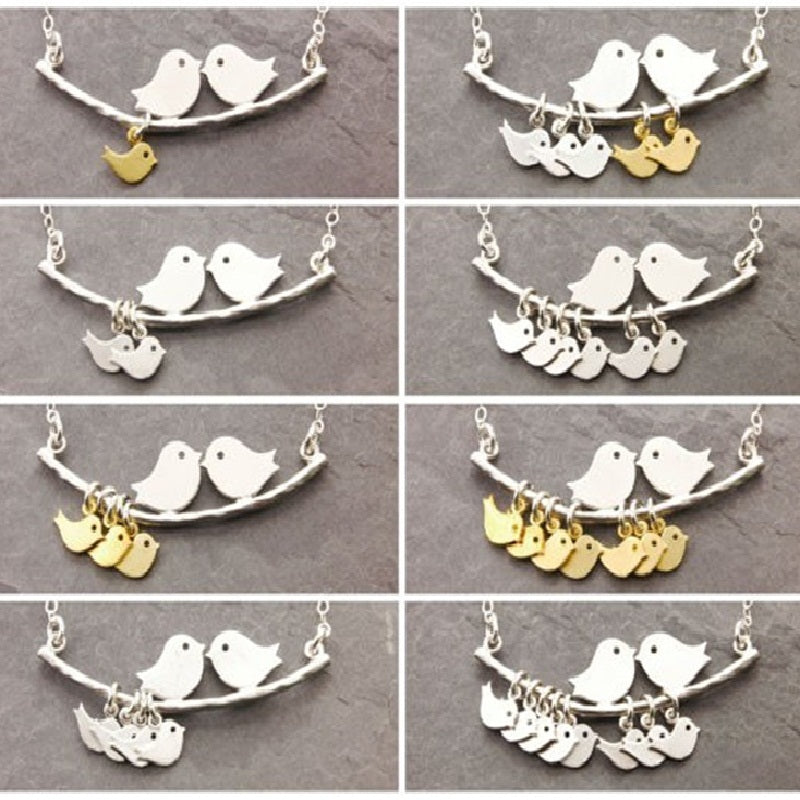 1-8 Category Bird Bird Necklace Simple Fashion Tree and Bird Pendant Necklace