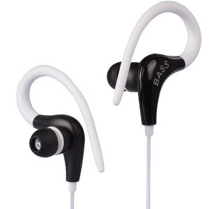 Light Weight Ear Hook Bass Headphone for iPhone 5 5S 6 6S Plus Xiaomi Samsung