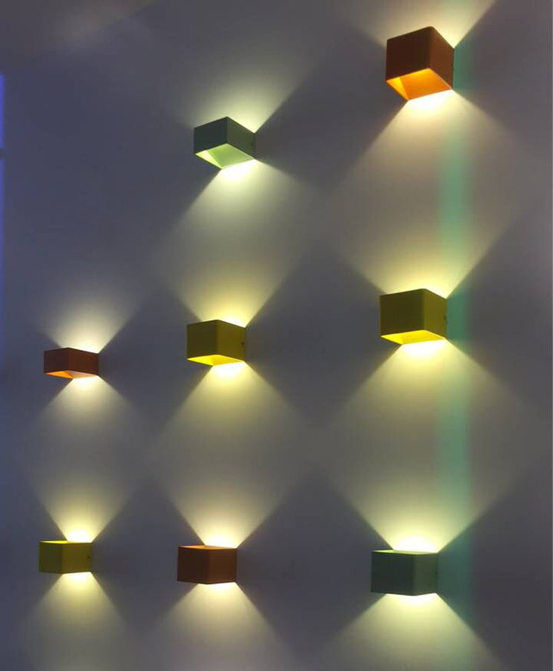 Aluminum LED Wall Lamps 5W AC 85-240V