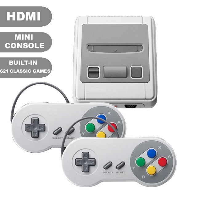 Retro Video Game Console Support HDMI Built-In 621 Classic TV Games