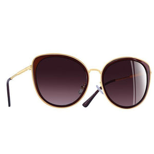 Gradient Lens Polarized Cat Eye Sunglasses UV400