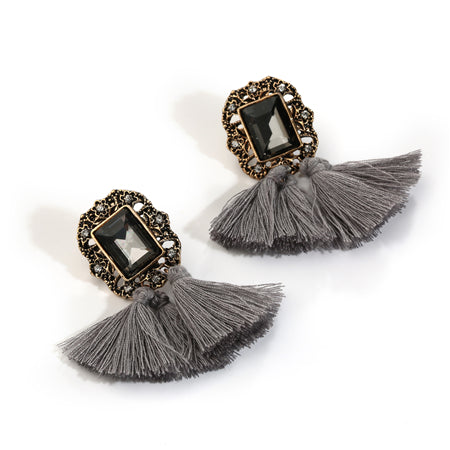 Bohemian Tassel Drop Earrings For Women