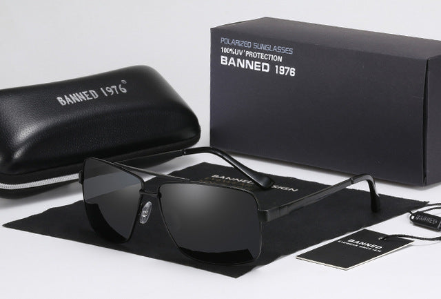 Classic design Polarized Rectangle Sunglass