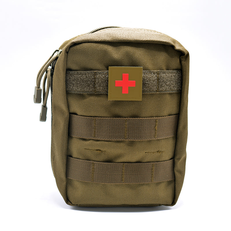 Portable Tactical Emergency First Aid Bag Military Kit Medical Quick Pack